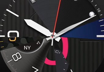 IFA 2014 Gwatch R Watch Face Transition